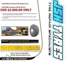 JSH TYRES has a special on our 20.5R25 E3/L3 Earthmax tyres