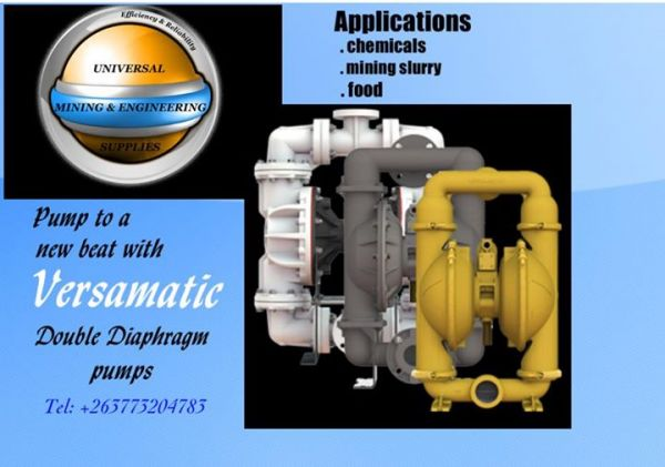 Versamatic Double Diaphragm pumps for sale