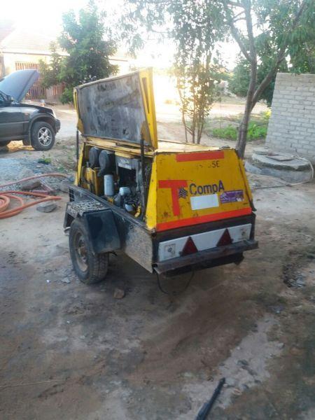 Compair Compressor for hire