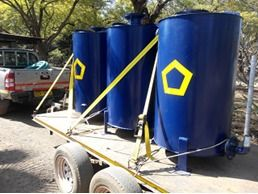Cyanidation Tanks for sale